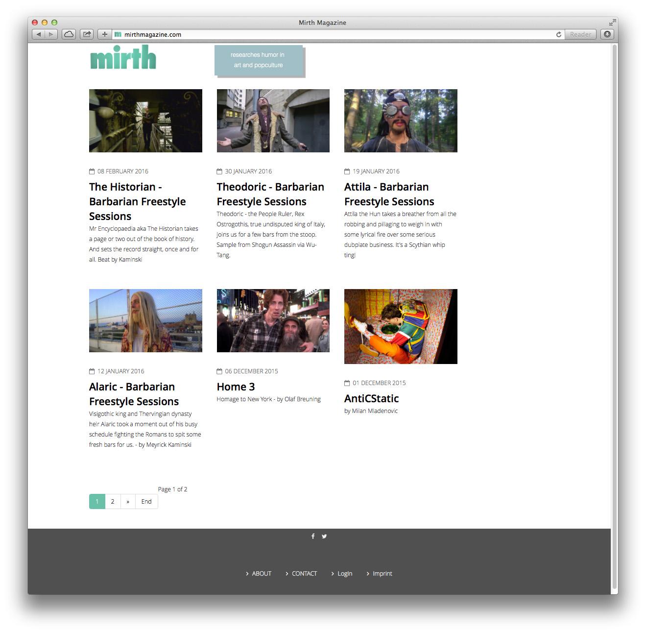 Mirth Magazine